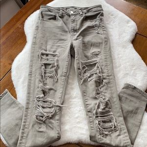 Super Hi Rise Jeggings by American Eagle